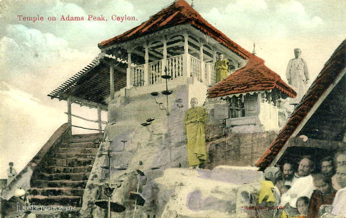 Temple on Adams Peak - Ceylon c_1909.jpg
