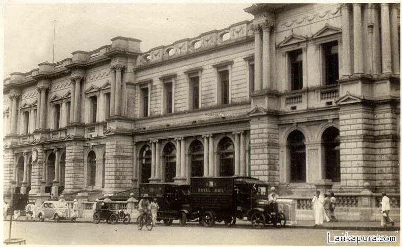 Colombo Post Office_ Royal Mail Truck 1925 - Ceylon.jpg