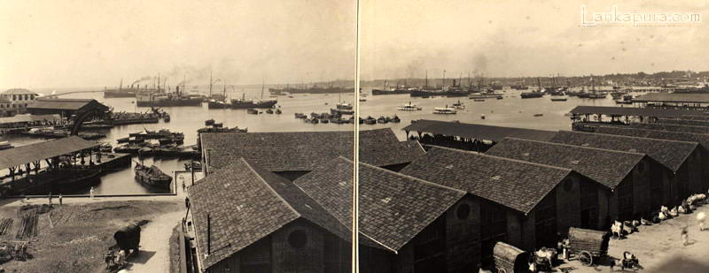 Panoramic view of Colombo Harbour early 1900_s.jpg