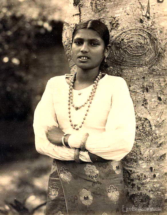 Native Singalese Girl