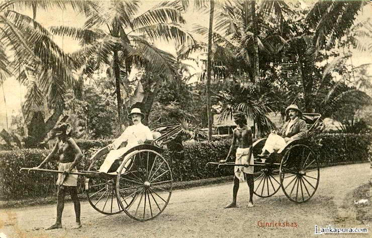 colombo rickshaw drivers 1906
