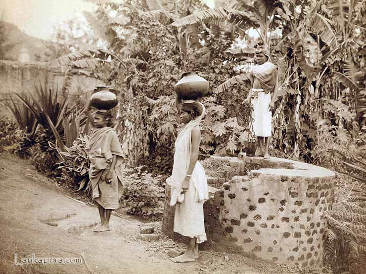 Tamil Women at the Well