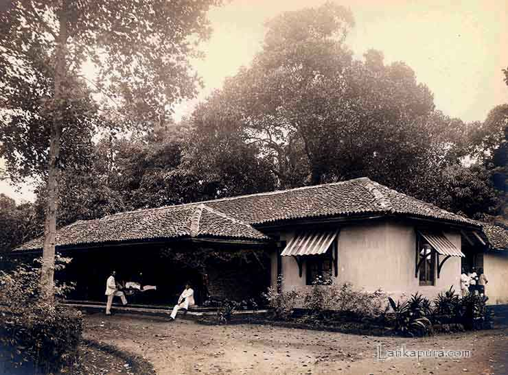 rest house at gampola ceylon