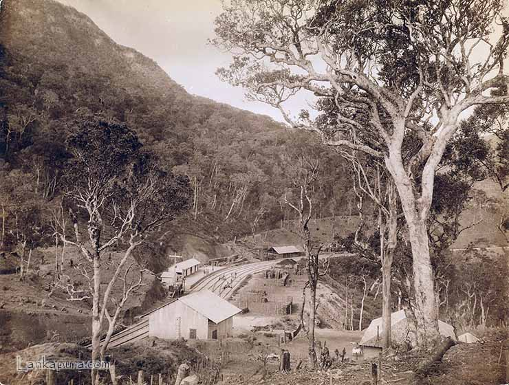 ohiya railway station taken in 1894