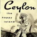 Discover Ceylon Happy Island Travel Promotion 1957