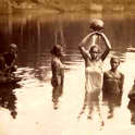 Young Women Bathing, Ceylon Colombo