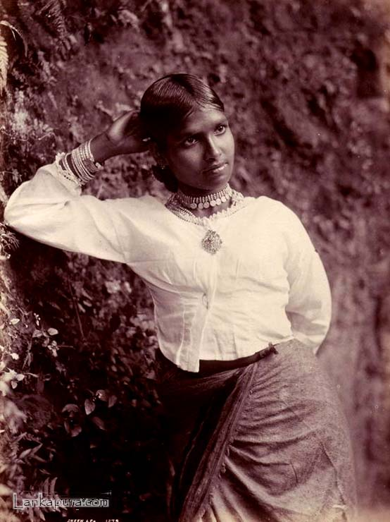 Portrait of a Sinhalese Woman