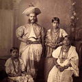 Kandy Chief & Family, Kandy, Ceylon