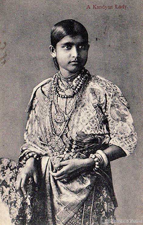 Portrait of a Kandyan Lady