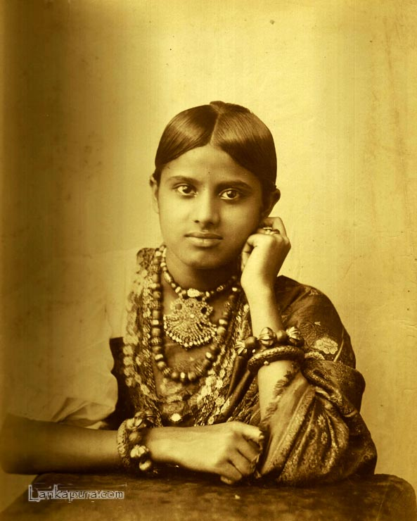 Native Kandyan Woman