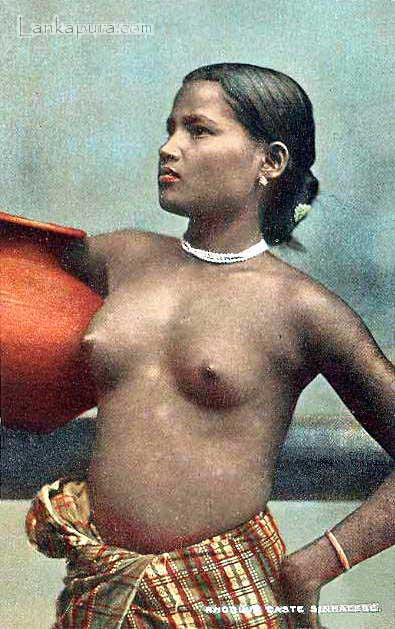Rodiya  Girl Ceylon 1910