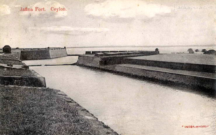 Dutch Fort at Jaffna c.1910