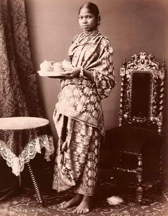 A Tamil Lady, Ceylon c1875