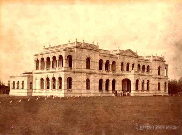 antique photograph of the colombo museum