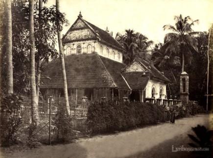 Buddhist Temple Ceylon c.1880's