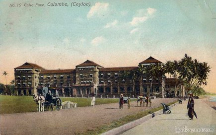 Galle Face Colombo Ceylon 1908