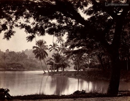 Kandy Lake, Ceylon c.1880's