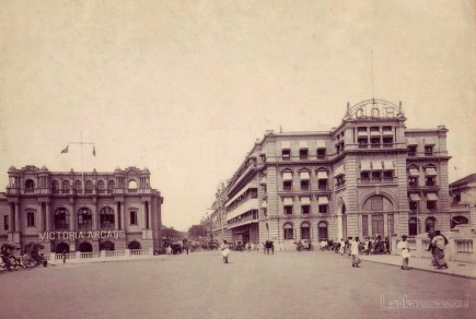 GOH and Victoria Arcade Colombo Sri Lanka c.1900s