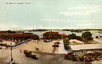 Colombo Harbor Ceylon