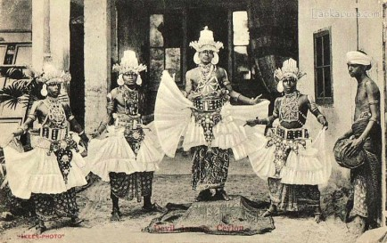 Native Kandyan Dancers Sri Lanka