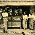 Native Bazaar Colombo Ceylon in Early 1900s