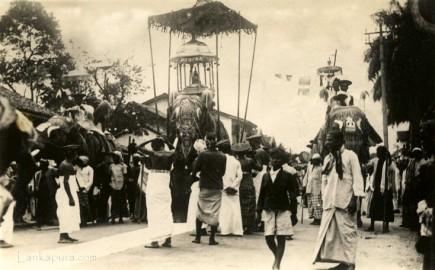 Perahera Procession Kandy Ceylon