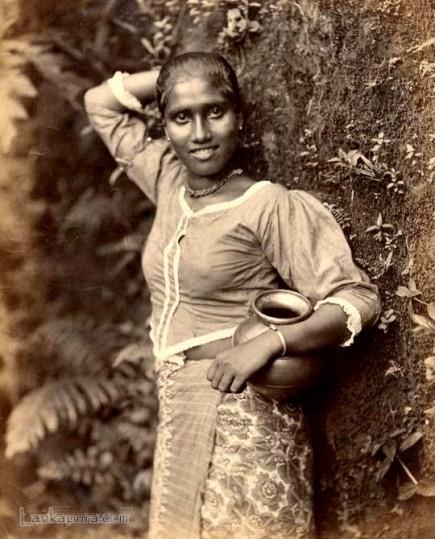 Native Sinhalese Girl from Ceylon