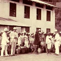 Surveyors at a tea estate