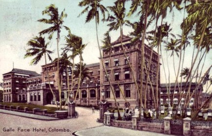 Galle Face Hotel, Colombo, Ceylon 1910