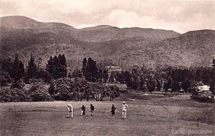 Famous Nuwara Eliya Golf Course, Ceylon 1920s