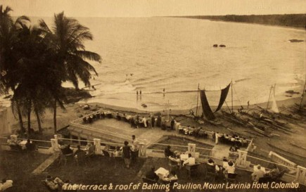 Bathing Pavilion, Mount Lavinia Hotel, Colombo.