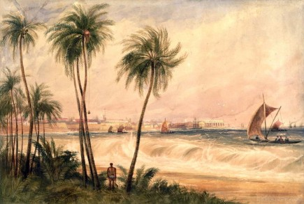 View of Colombo in Sri Lanka