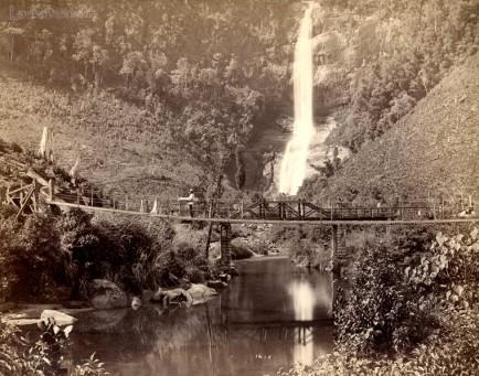Adam's Peak Falls, Ceylon