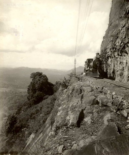 Colombo to Kandy Railway in Ceylon early 1900s<br />
