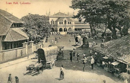 Colombo Town Hall CEYLON 1915