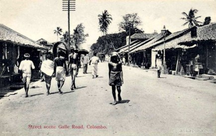 Galle road Colombo, Ceylon