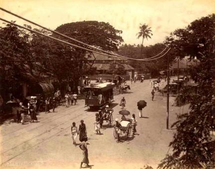 Main Street Colombo, Ceylon 1880