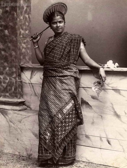 Portrait of a Tamil Lady, Ceylon c.1890