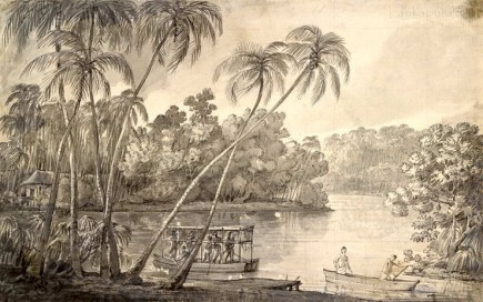 Lord Valentia travelling to Colombo, Ceylon c.1803