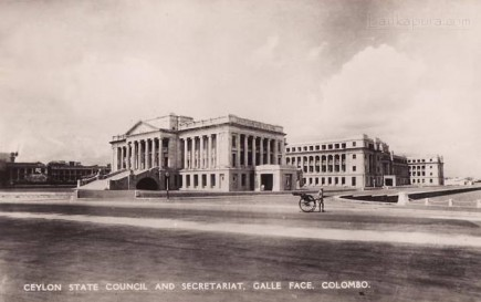 State council, Secretariat, Colombo, Ceylon - 1940s