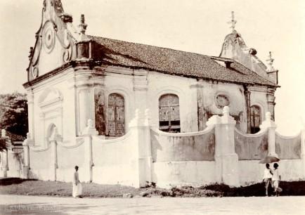 The old Dutch church in Galle, Ceylon 1903