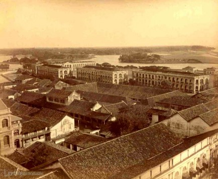View from Colombo fort, Ceylon c.1880