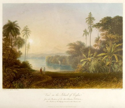 Island of Ceylon, from the Residence of Sir Alexander Johnston