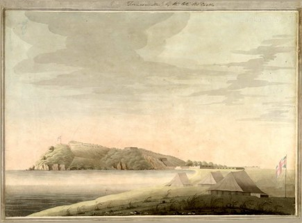 View of Trincomallee, Thomas Castle, Ceylon
