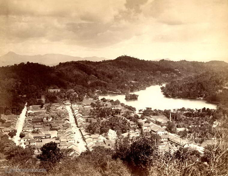 A view of Kandy, Ceylon 1880 - 1885 #IMG