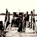 Ferry across the estuary at Trincomalee, Ceylon 1925