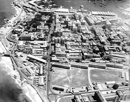Echelon Barracks Colombo, Ceylon 1945