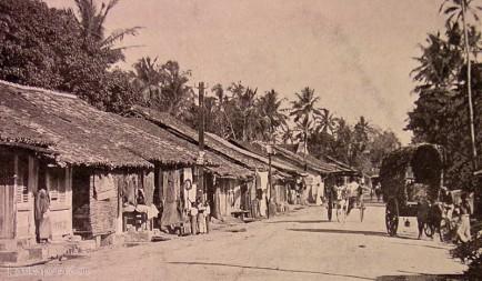 Native life in Kollupitiya Bazaar, Colombo