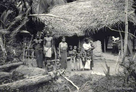 Native family and their dwelling