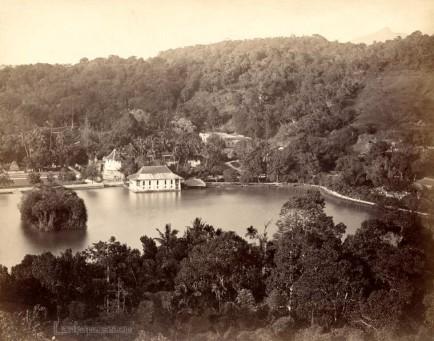 Kandy Lake, Ceylon 1880 - 1890